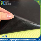 Negro revestido de la tela de la fibra de vidrio del Teflon de PTFE a prueba de calor