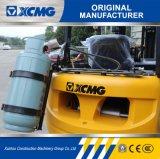 XCMG 1.5T la gasolina y GLP Carretilla con motor Nissan y transformador Impco
