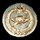 Oro che antico in lega di zinco del distintivo del collare polizia militare del metallo dell'esercito americano Badge (CB40406)