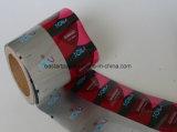 Preservativo Embalaje de rollos de película laminada de la Cruz film de polietileno