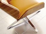 曲げられた木製のボードの旋回装置のオフィスの会議の椅子