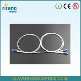 1X2 LC/PC 5: 95 Acopladores de fibra óptica fibra resistente de 0,9 mm revestido