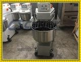 De Spiraalvormige Mixer van de Kom van het Roestvrij staal van het Ce- Certificaat 50kg voor Brood
