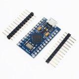 Micro самого лучшего модуля доски Atmega32u4 5V/16MHz Arduino качества новый ПРОФЕССИОНАЛЬНЫЙ для Arduino с коллектором Pin 2 рядков для Leonardo в штоке
