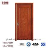 自然な木製のベニヤ最新のデザインMDFの木のドア