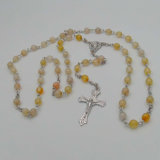 Католик Rosary оптовой продажи Gemstone Rosaries шарика высокого качества католический (IO-cr418)
