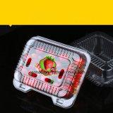PE PP прямоугольник ясно прозрачной пластиковой продовольственной фруктов емкость упаковки коробки с крышкой кружка крышки