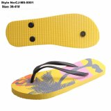 China Lady's PE Flip Flop zapatillas animal hermoso, al imprimir
