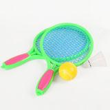 Игрушка ракетки тенниса цветастых детей пластичная для игры тенниса