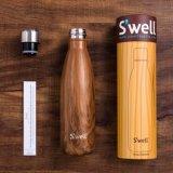 frasco 9 do inchamento do esporte do frasco de vácuo da garrafa de água do aço 260ml/350ml/500/450/400ml inoxidável 17 25oz