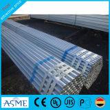Tubo de acero galvanizado sumergido caliente del galvanizado