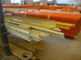 Tubo rectangular de GRP, tubo rectangular de FRP, tubo rectangular de la fibra de vidrio