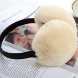 Neue kundenspezifische Ohrenschützerhalten künstlicher Fox-Pelz-Ohr-Muffe-Herbst und Winter warme Wolle-Ohr-Muffe