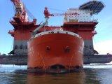 Nave que utiliza del proyecto del mar de China