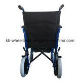 Fauteuil roulant en acier léger et manuel Kbw871b