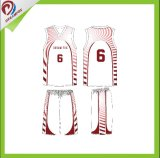 Baloncesto sin mangas unisex 100% de la ropa de deportes del poliester de Dreamfox Jersey