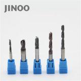 Jinoo горячая продажа 2 флейта карбида вольфрама буровых долот для титан