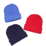 Цветные акриловые качества Hip Custom трикотажные шапки зимние трикотажные Beanie Red Hat
