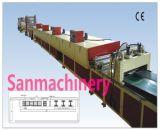 Cadena de producción plana reciclable de la cartulina de la alta calidad