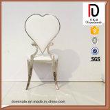 Серебряный уникально стул венчания нержавеющей стали стула конструкции покера