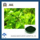 Het Koper Chlorophyllin van het Natrium van de Rang van het voedsel in China wordt gemaakt dat