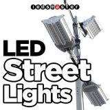 gli indicatori luminosi di via solari di 150W LED con Ce RoHS hanno approvato 5 anni di garanzia 120lm/W