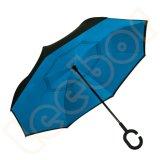أصليّة يعكس نقطة إيجابيّة - إلى أسفل يغلق مطي كبيرة اثنان طبقة مظلة