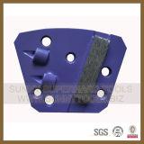 Плита трапецоида PCD Blastrac меля для конкретного точильщика