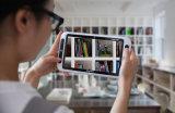 Pangoo 8HD niedriger Anblick unterstützt Handvideovergrößerungsglas mit Doppelkamera