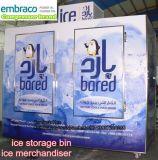 Упакованное крытый и открытый отсек для хранения льда/ICE/Ice Merchandiser магазин оборудования (сертификат CE)