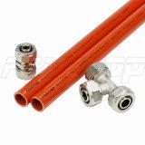 Tubo Pex-Al vermelho-Pex para água quente sob a Norma Europeia