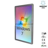 DIGITALANZEIGEN-Note LCD-mit Berührungseingabe Bildschirm Wand-Montierungs-Windows-Betriebssystem