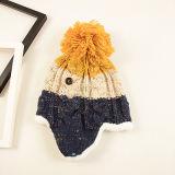 Пользуйтесь функцией настройки пользовательского моды Qunlity зимой женщин Beanie Red Hat с короткими уха