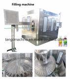 Garrafa de sumo de água automático de enchimento de carbonato de pacote de engarrafamento a linha de produção da Máquina
