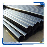 Tubi d'acciaio di laccatura dell'olio di ASTM A36 LSAW, riga saldata longitudinale laminata a caldo Sch40 tubi di api 5L