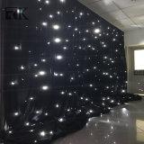 L'éclairage d'étape drapent le tissu coloré neuf de lumière de rideau en étoile de DEL