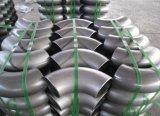 Instalación de tuberías del codo de la soldadura 304L/316L de la categoría alimenticia del acero inoxidable