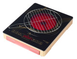 Gran cuerpo Plasitc de vidrio de alta temperatura de alta potencia BBQ Cocina Cocina infrarrojos DT20A3