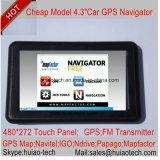 """Hete """" GPS van de Vrachtwagen van Auto 4.3 Mariene Navigatie met Handsfree Bluetooth, de Zender van de FM, Avin AchterCamera, het Handbediende GPS Systeem van de Navigatie, Tmc het Controlemechanisme van de Stem, Drijver"""