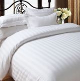 In het groot Linens Hotel 3cm de Inzamelingen van het Beddegoed van de Streep