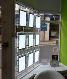 Rectángulo ligero cristalino del borde LED para la visualización de las propiedades inmobiliarias