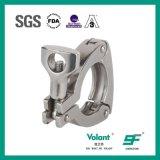 ステンレス鋼の衛生管付属品のスリーピースのクランプ