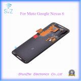 Pantalla táctil elegante original del teléfono celular LCD para el nexo 6 de Moto Google