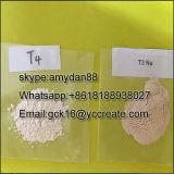 Стероидный сырцовый L-Тироксин T4 CAS порошка: 51-48-9 для тучного горение
