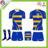 2018 New Design Custom Make Breathable Super Cool Jersey Rugby Set Lie TEAM