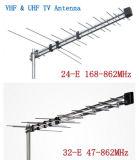 32e de Periodieke Antenne van het logboek met de Digitale UHF+VHF OpenluchtAntenne van TV