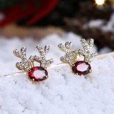 De Nagel van de Oorringen van de Manier van de Vrouwen van de Juwelen van de Gift van Kerstmis