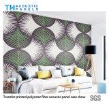 다채로운 이동 인쇄 폴리에스테르섬유 장식적인 청각적인 벽면