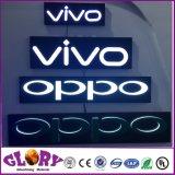 Канал заднего хода письмо знаки из нержавеющей стали и светодиодной подсветкой логотип Halo письмо