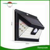 À prova de Luz Solar de LED 44 Sensor de movimentos PIR alimentada a energia solar Piscina Jardim LED Light com 5 LEDs em ambos os lados
